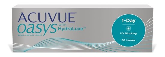 Acuvue Oasys 1-Day with HydraLuxe, Johnson & Johnson (30 Stk.)