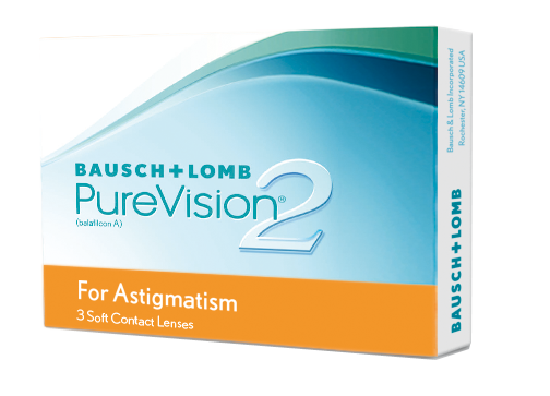 Pure Vision 2 HD for Astigmatism, Bausch & Lomb (3 Stk.)