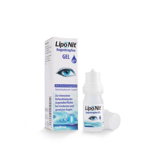 LipoNit Augentropfen 0,3%, optima (10 ml)