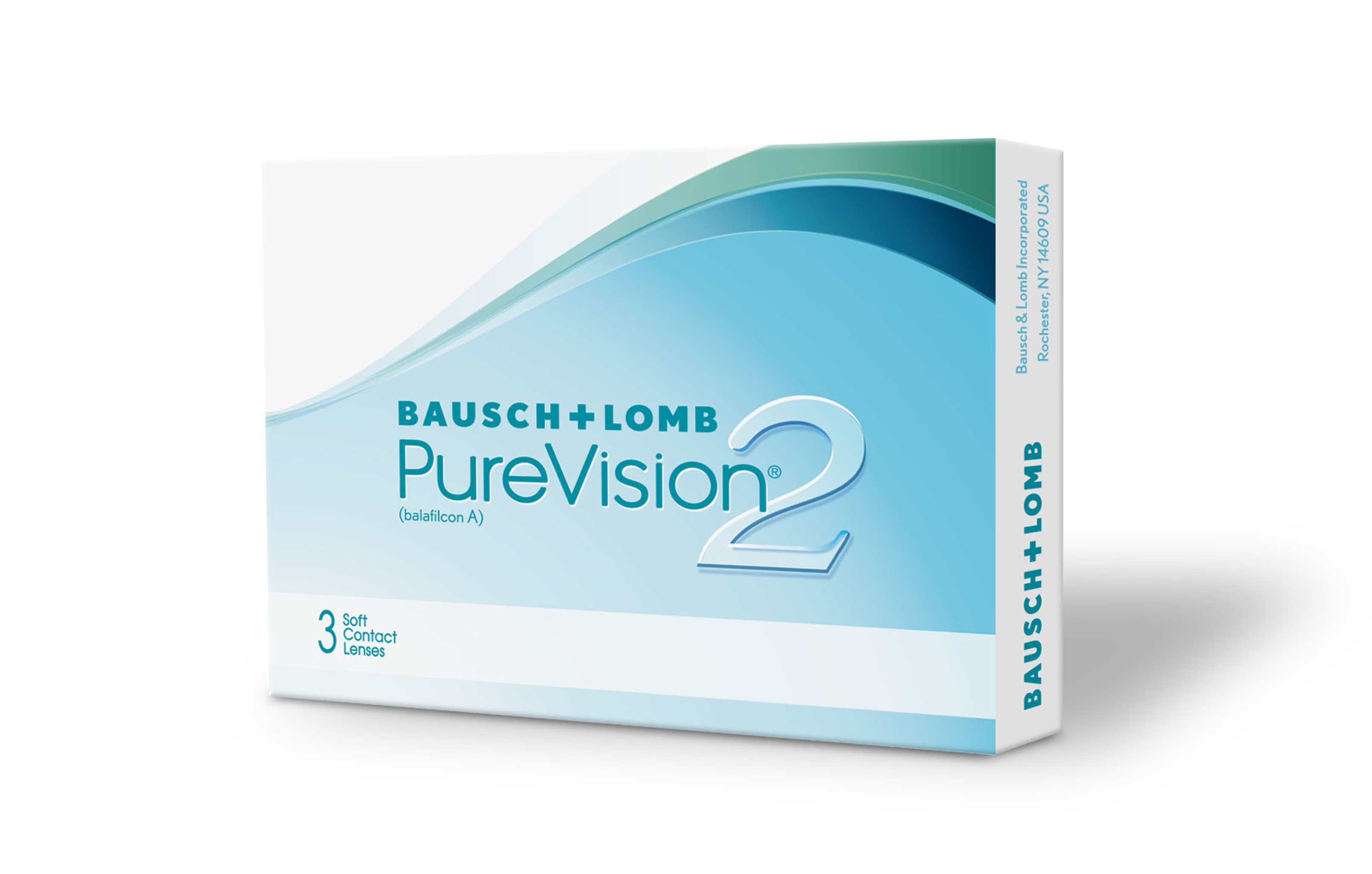 Pure Vision 2 HD, Bausch & Lomb (3 Stk.)