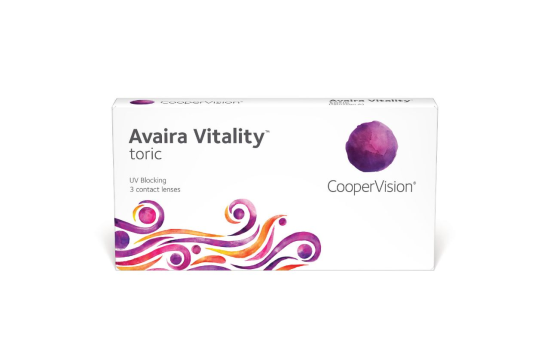 Avaira Vitality Toric, Cooper (3 Stk.)