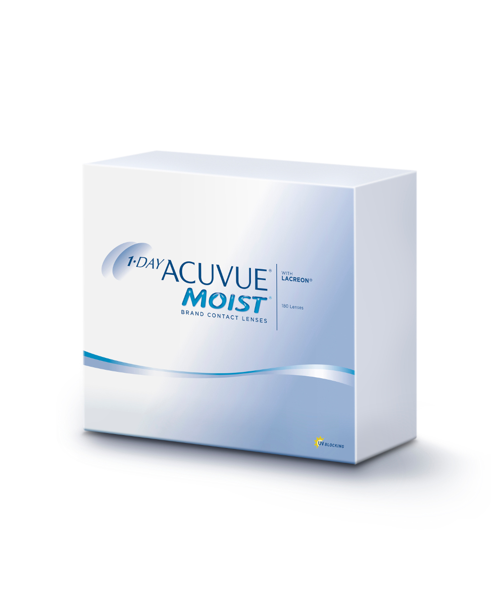 1-Day ACUVUE Moist, Johnson & Johnson (180 Stk.)