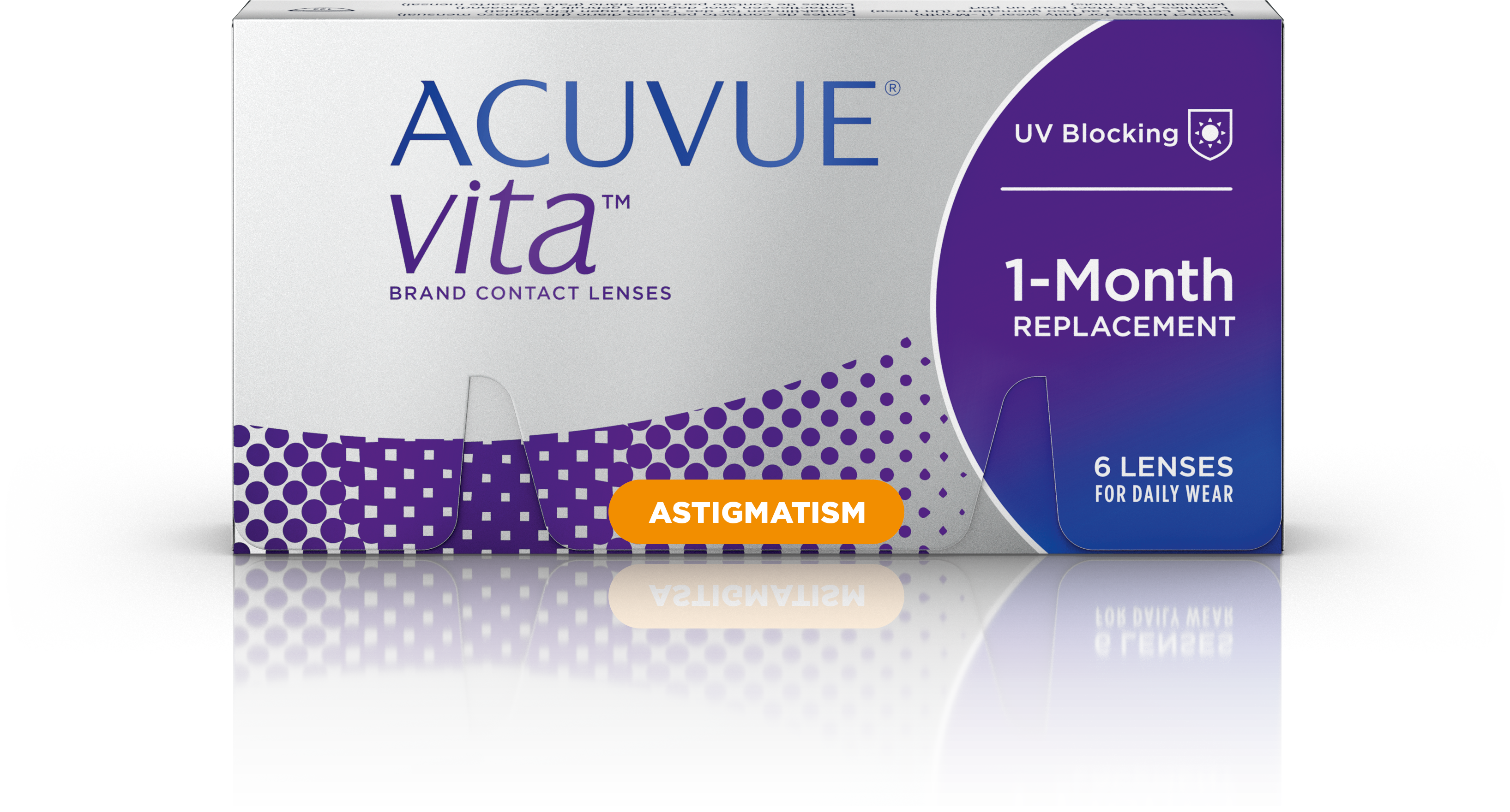 Acuvue Vita for Astigmatism, Johnson & Johnson (6 Stk.)