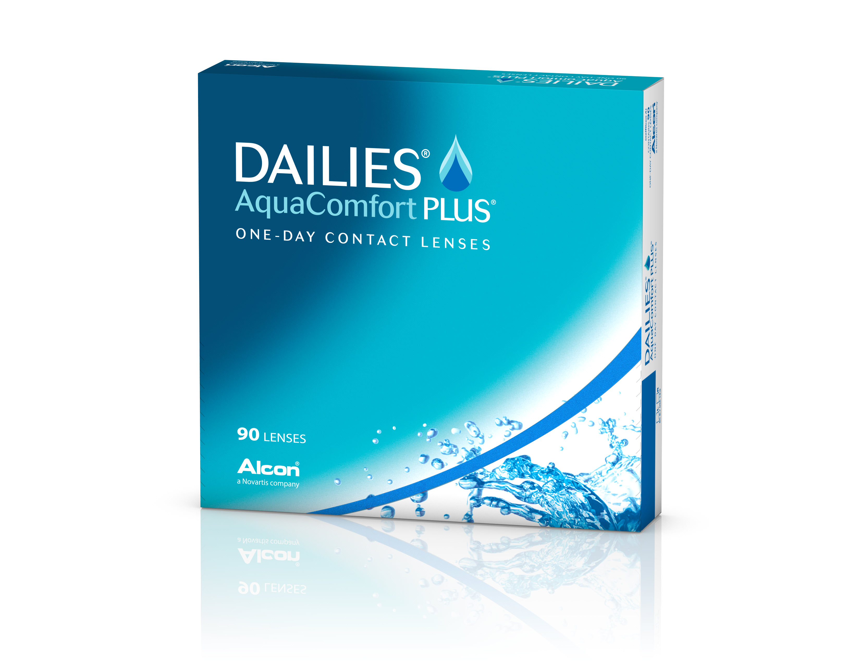 Dailies AquaComfort Plus, Alcon (90 Stk.)