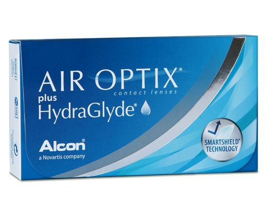 Air Optix Plus HydraGlyde, Alcon (6 Stk.)