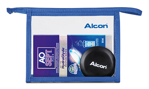 AOSEPT Hydraglyde Travelpack, Alcon (90 ml)