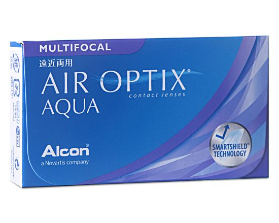 Air Optix Aqua Multifocal, Alcon (6 Stk.)