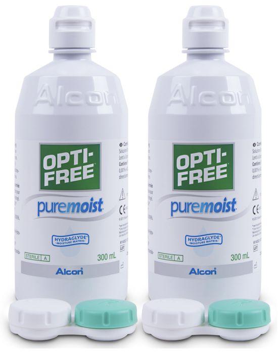 Opti-Free PureMoist Vorratspack, Alcon (2 x 300 ml)