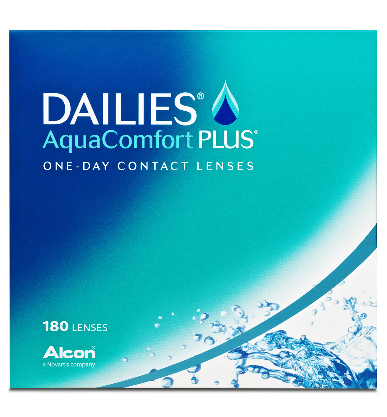 Dailies Aqua Comfort Plus, Alcon (180 Stk.)
