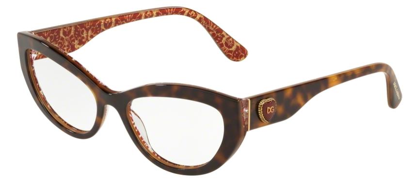 Dolce & Gabbana Brille DG3306 3204