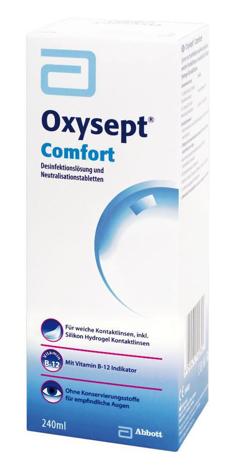 Oxysept Comfort, AMO (240 ml + 24 Tabl.)