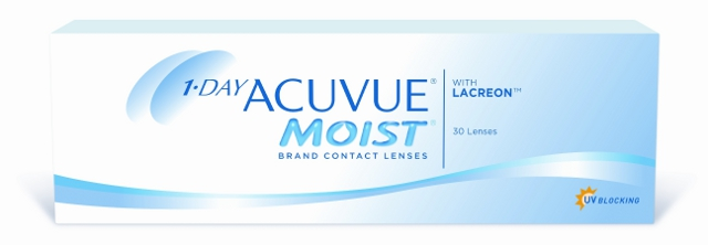 1-Day ACUVUE Moist, Johnson & Johnson (30 Stk.)