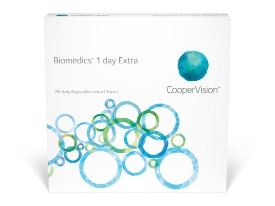 Biomedics 1 Day extra, Cooper (90 Stk.)