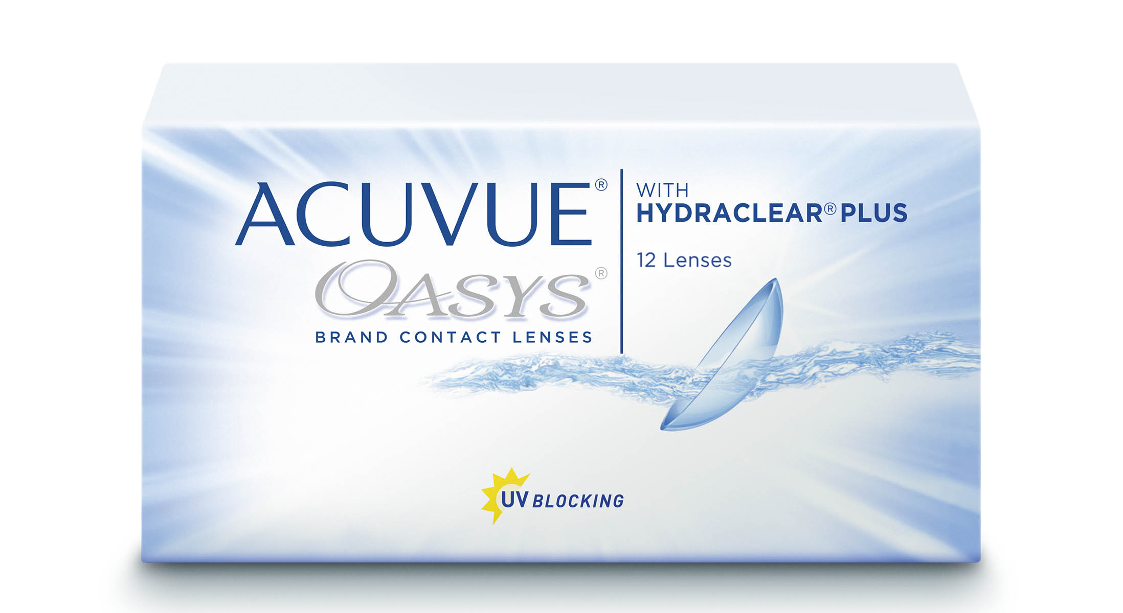 Acuvue OASYS with Hydraclear Plus, Johnson & Johnson (12 Stk.)