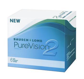 Pure Vision 2 HD, Bausch & Lomb (6 Stk.)