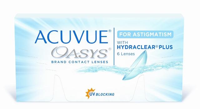 Acuvue OASYS for Astigmatism, Johnson & Johnson (6 Stk.)