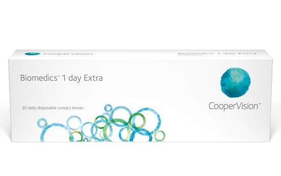 Biomedics 1 Day extra, Cooper (30 Stk.)