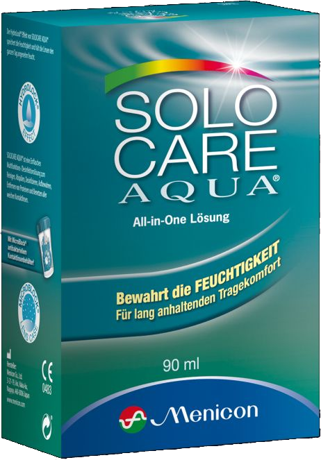 Solocare Aqua, Menicon (90 ml)