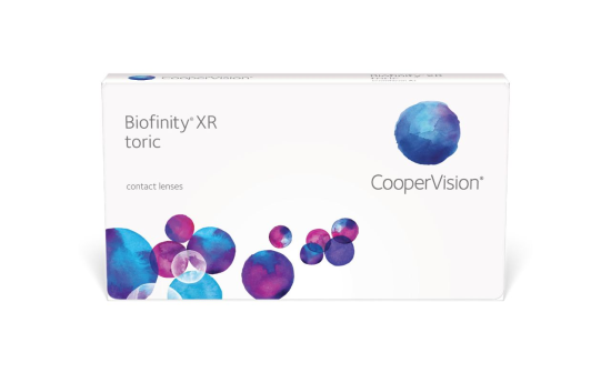 Biofinity XR Toric, Cooper Vision (6 Stk.)