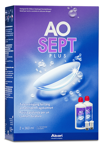 AOSEPT Plus Doppelpack, Alcon (2 x 360 ml)