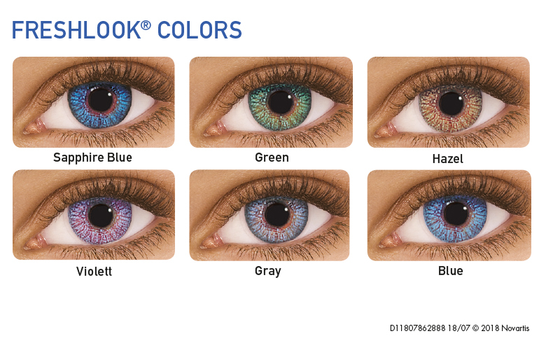 FreshLook Colors, Alcon (2 Stk.)