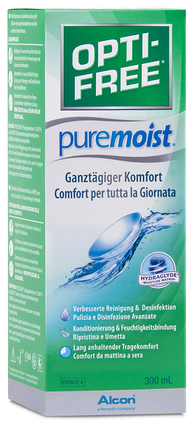 Opti-Free PureMoist, Alcon (300ml)