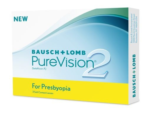 Pure Vision 2 for Presbyopia, Bausch & Lomb (3 Stk.)