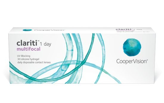 Clariti 1 Day Multifocal, Cooper (30 Stk.)
