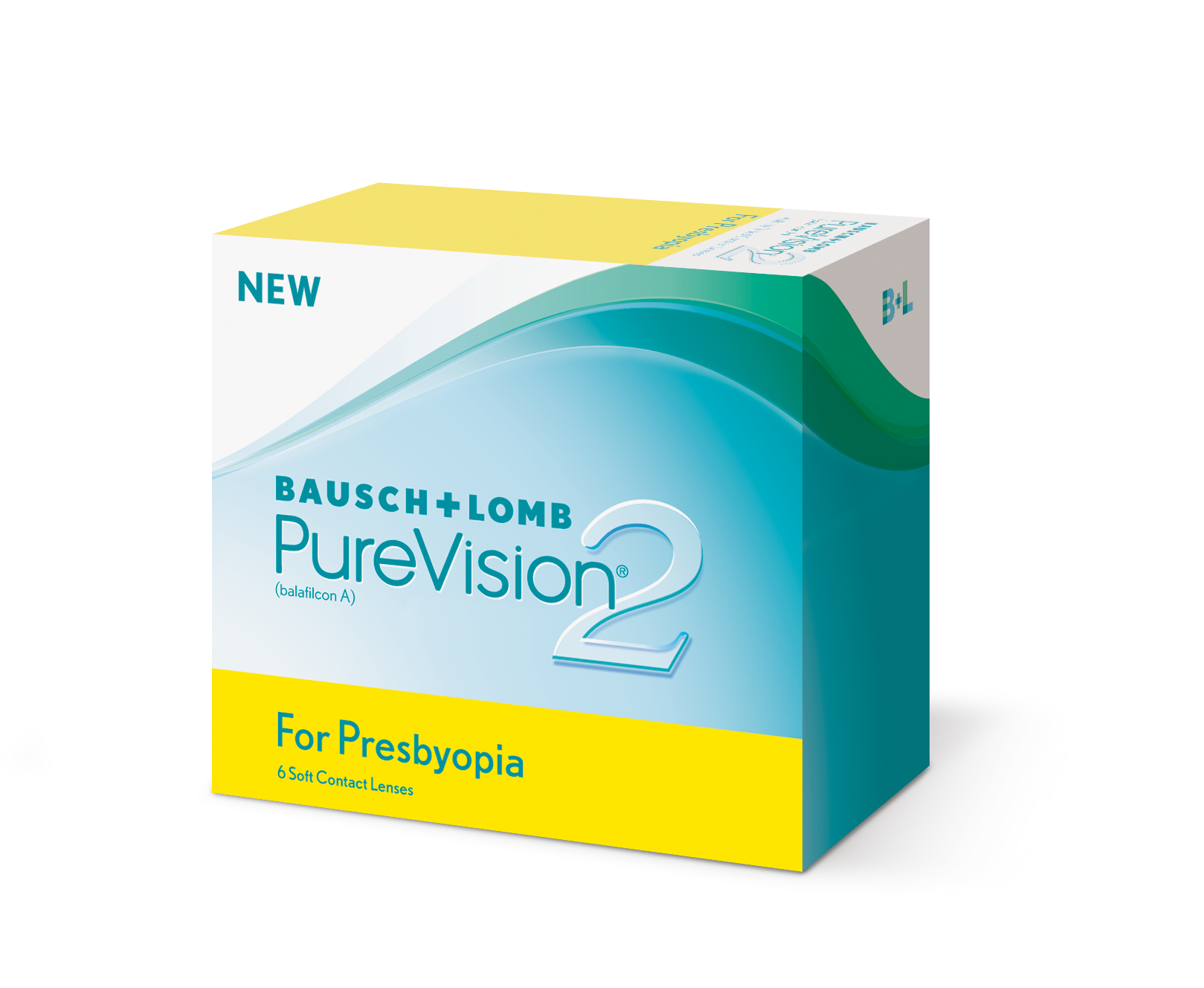 Pure Vision 2 for Presbyopia, Bausch & Lomb (6 Stk.)