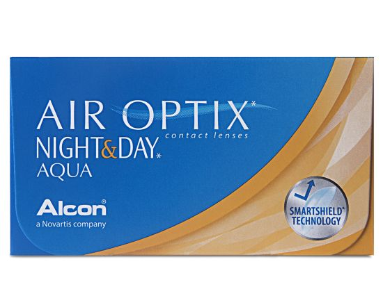 Air Optix Night & Day Aqua, Alcon (6 Stk.)